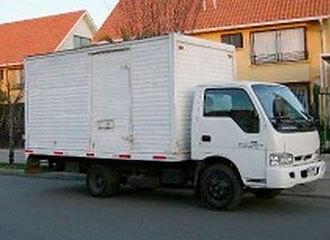 camiones de mudanzas en Chile